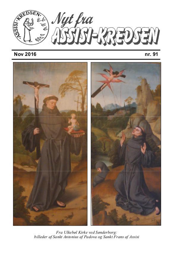 Nyt fra Assisi-Kredsen nr 91