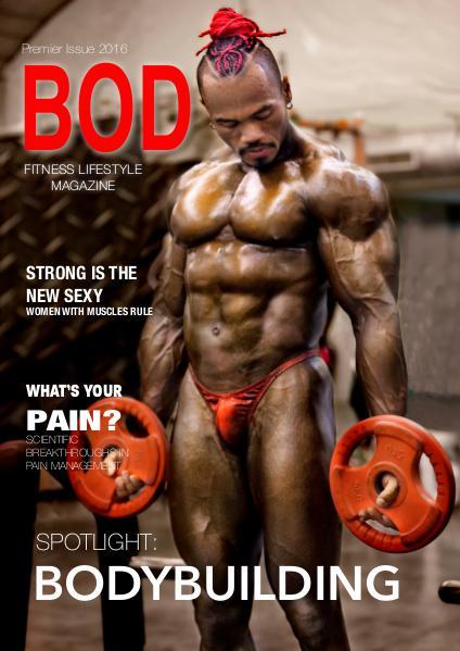 BOD Fitness Lifestyle Magazine Premier Issue