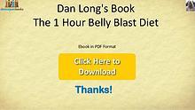 1 Hour Belly Blast Diet PDF Ebook Full Download