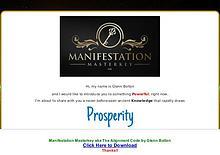 Pdf Manifestation Masterkey Ebook Full Download Free
