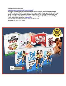 Ryan Young's The Fat Loss Miracle System PDF eBook Download