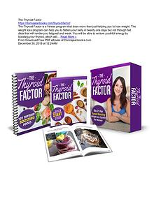 The Thyroid Factor by Dawn Sylvester PDF Book Download free