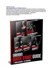 PDF Download - The Fightbody Formula by Lee Johnson & Bermuda Triangl