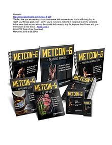 Chandler Marchman's Metcon 6 PDF Ebook Free Download