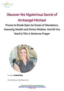 7 Day Prayer Miracle by Amanda Ross PDF Book Free Download