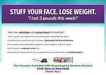 PDF The Favorite Foods Diet E-Book Chrissie Mitchell Free Download
