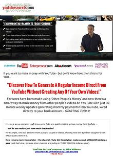 PDF YouTube Secrets Program Ebook Free Download