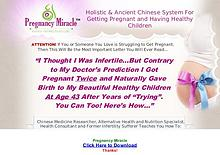PDF Pregnancy Miracle Ebook Free Download