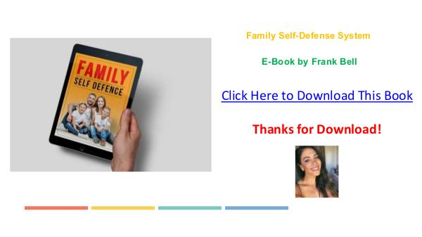 Frank Bell's The Family Self-Defense System Ebook PDF Download Free