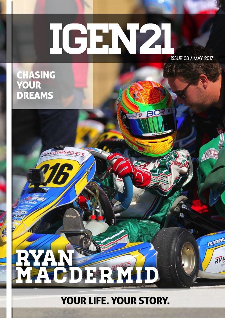iGen21 Magazine  Issue #3 May 2017