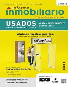 Revista Informe Inmobiliario Usados, edición 20, Oct - Nov. 2019