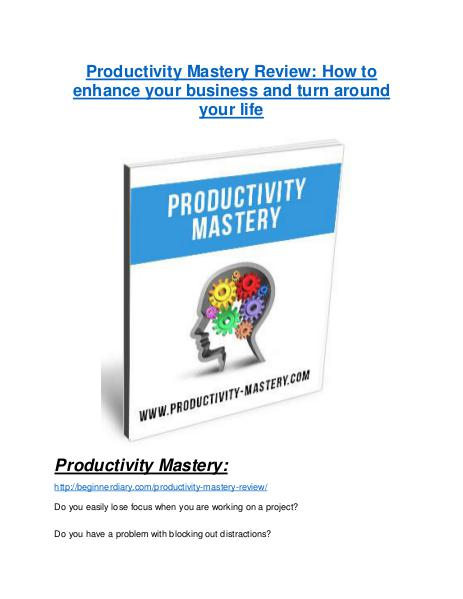 Marketing Productivity Mastery TRUTH review and EXCLUSIVE $25000 BONUS