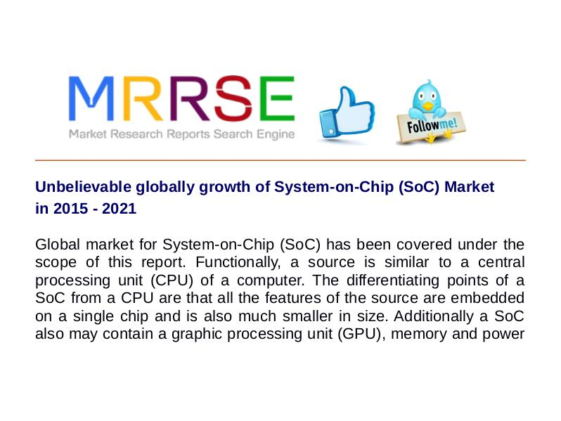 MRRSE System-on-Chip (SoC) Market