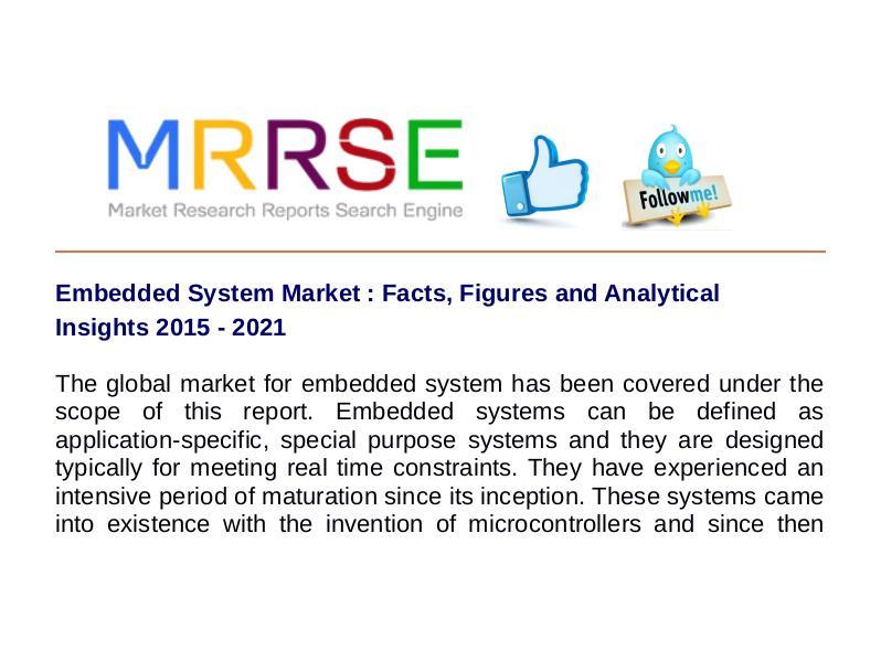 MRRSE Embedded System Market