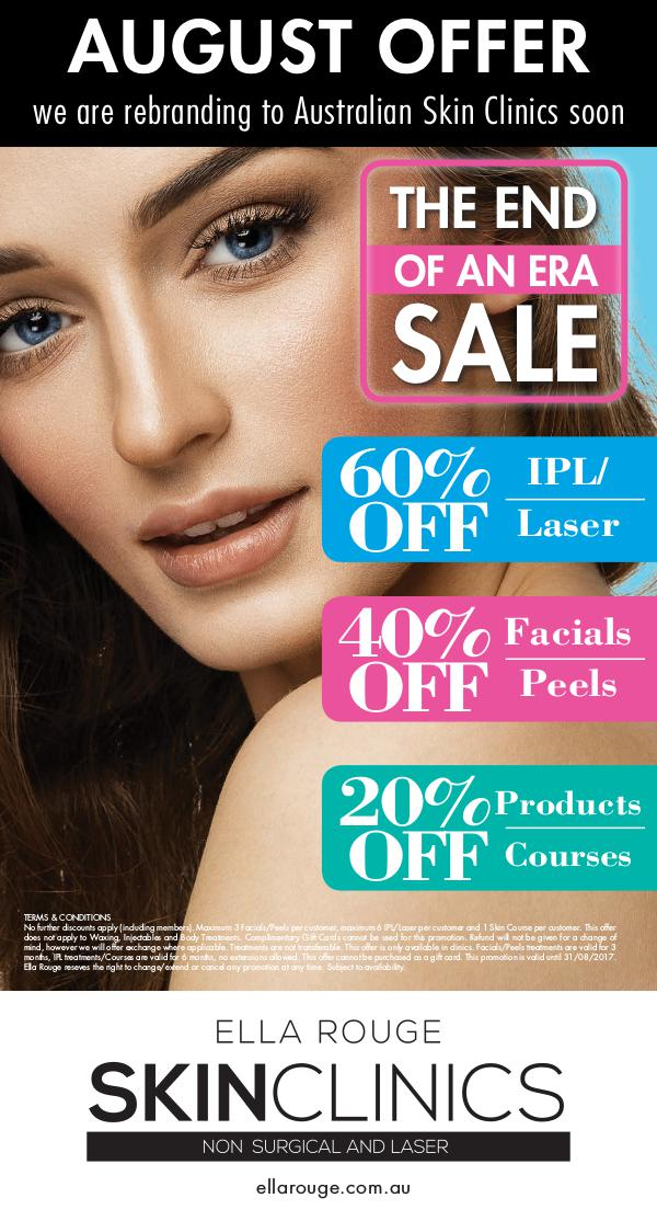 Ella Rouge Clinics August Promotion