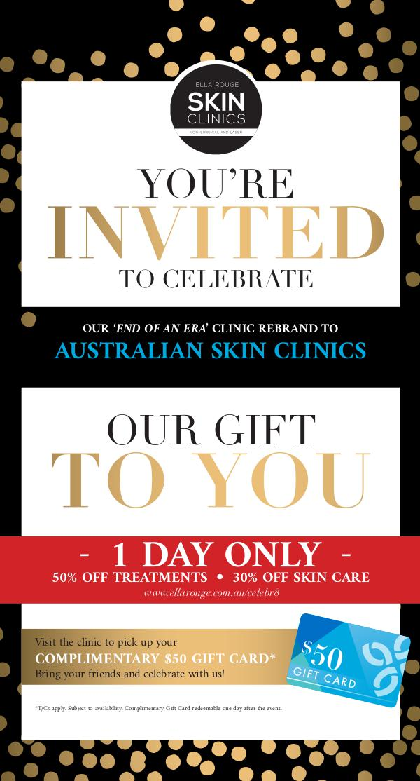 Ella Rouge Clinics November Celebration Issue