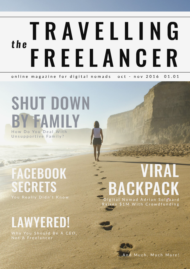The Travelling Freelancer Oct-Nov 2016