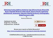 Defoaming Coating Additives Market: Global Forecasts to 2021