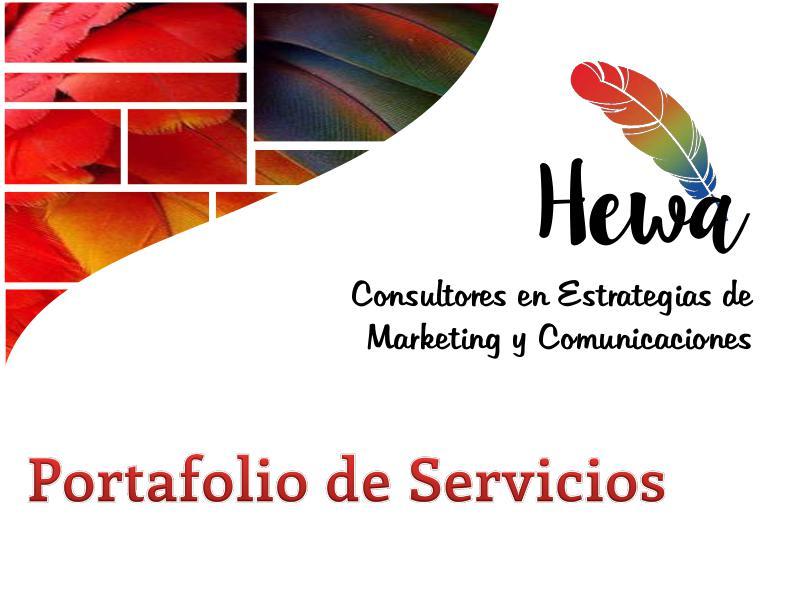 Propuesta de servicios Presentación de nuestros servicios
