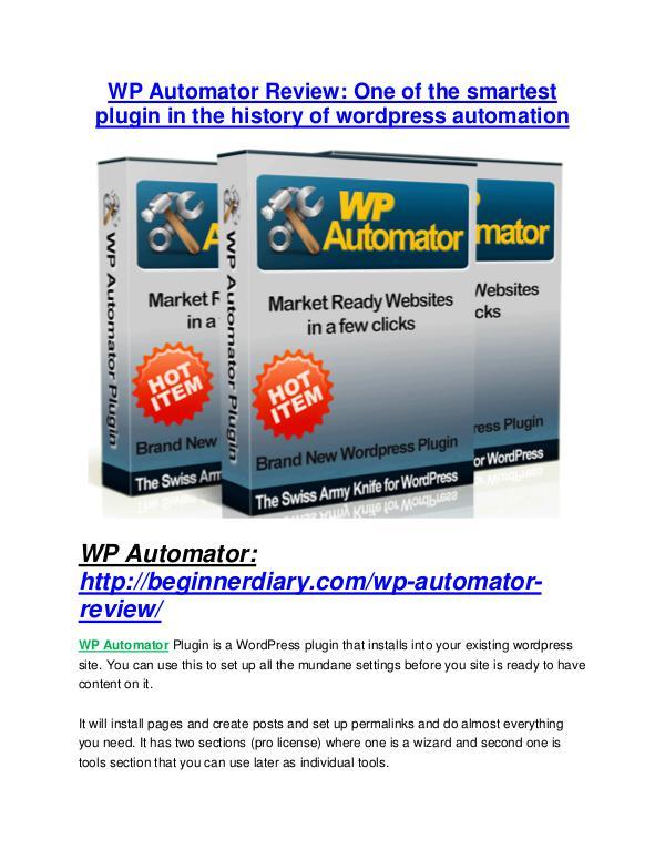 MarketingWP Automator Review - SECRET of WP Automator WP Automator review & SECRETS bonus of WP Automator