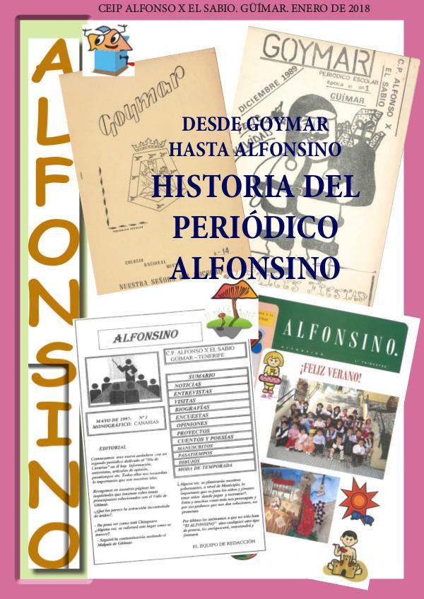 HISTORIA DEL PERIÓDICO ESCOLAR ALFONSINO periódico_alfonsino_goymar_enero2018