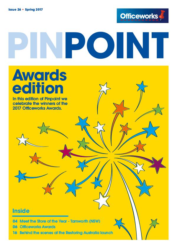 Officeworks Pinpoint magazine OFW11016 Pin Point_Issue26 16Oct17 FINAL LR