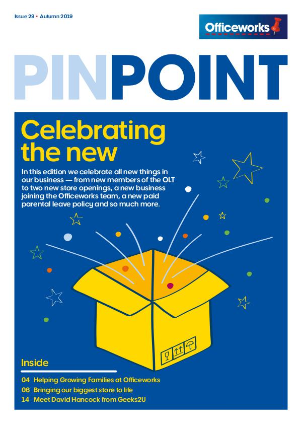 Officeworks Pinpoint magazine 29