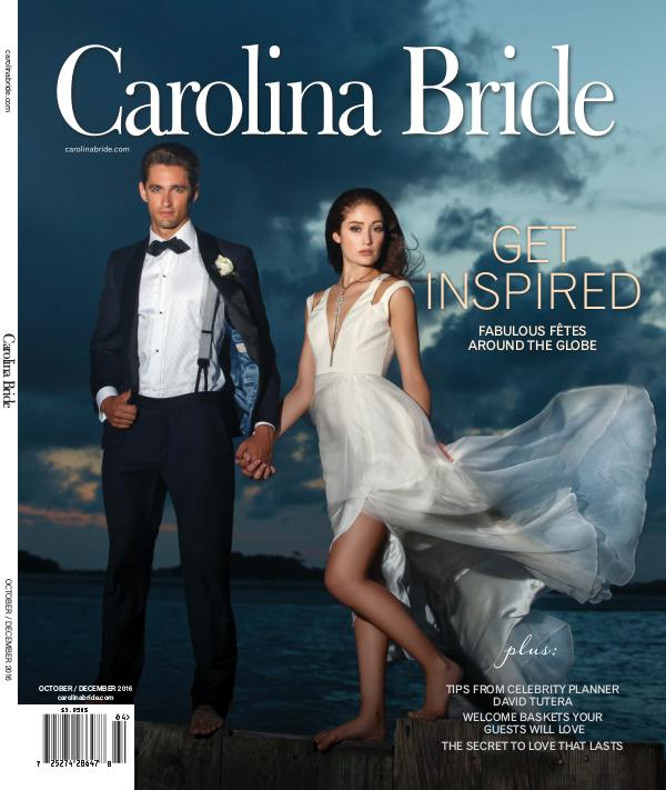 Carolina Bride: Cover and Feature CB_cover feature_October