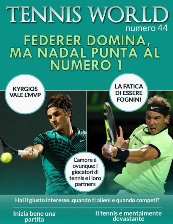 Tennis world Italia n 44 Tennis World Italia n. 44