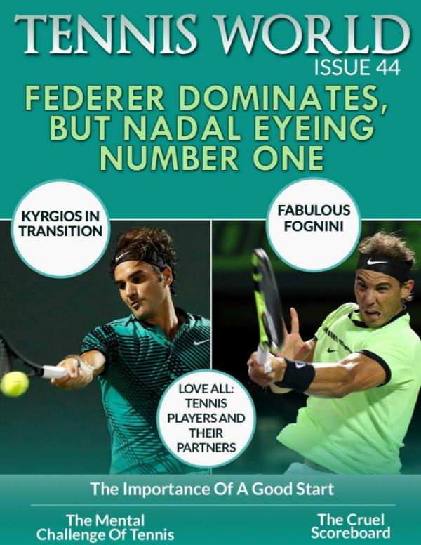 Tennis world english n.44 Tennis World n. 44