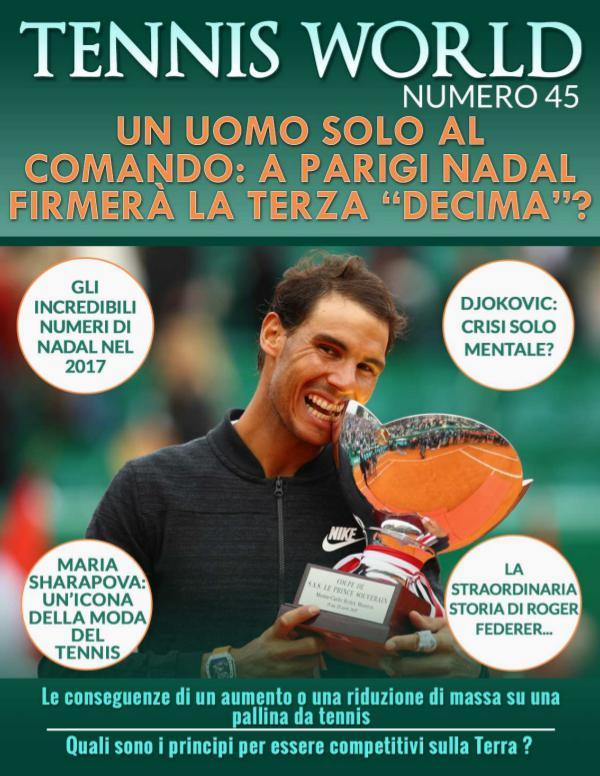 Tennis world Italia n 45 Tennis World Italia Magazine n. 45