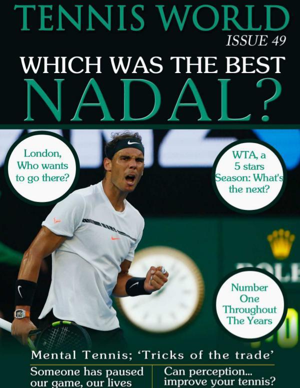 Tennis world en n 49 Tennis World issue 49