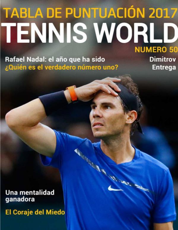 Tennis world es 50 Tennis World Es n.50