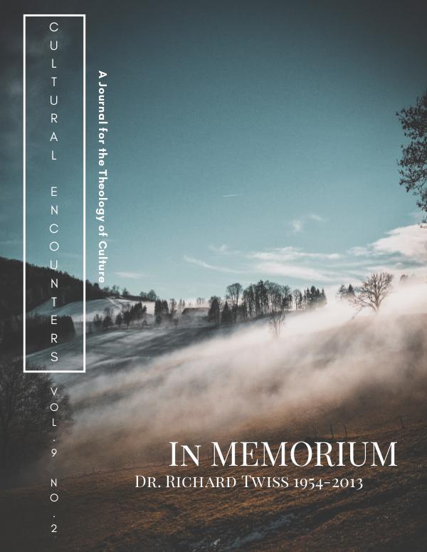 Volume 9 Number 2 (Summer 2013)