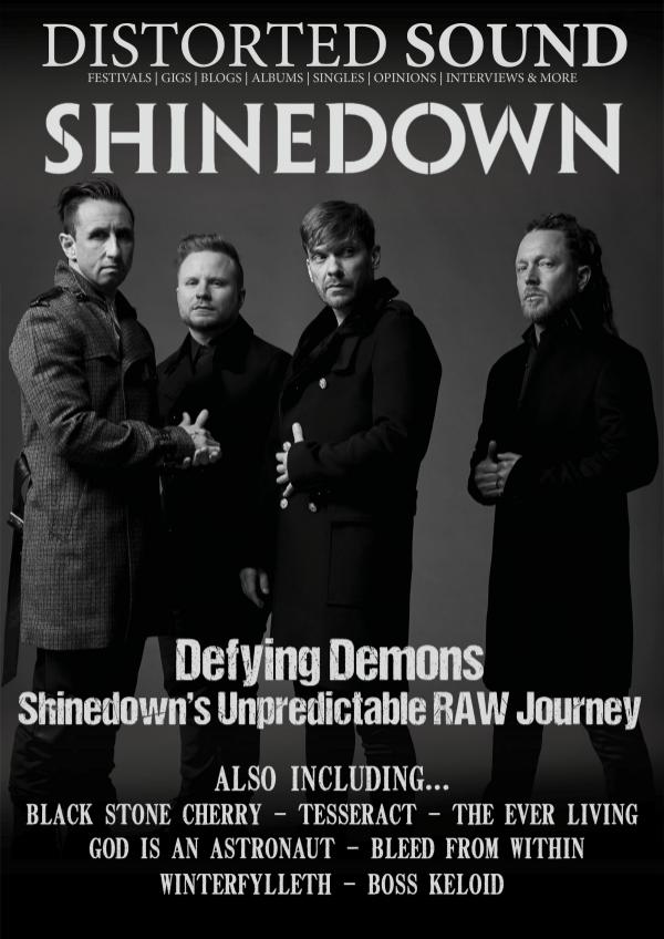 36 - Shinedown Cover