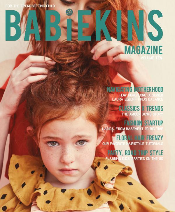 Babiekins Magazine Volume 10 - Cover 1