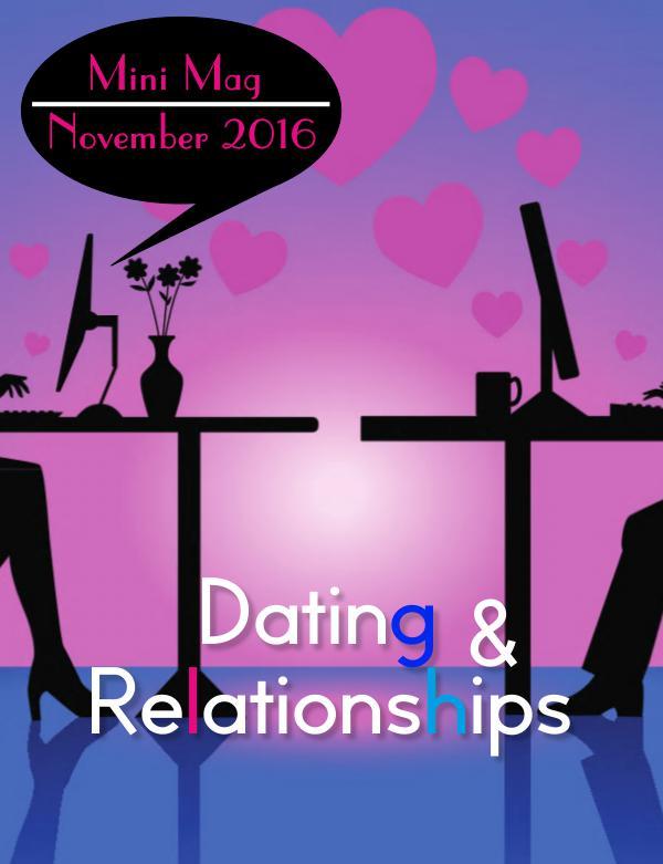 TNT Mini-Mag Dating & Relationships | November 16'