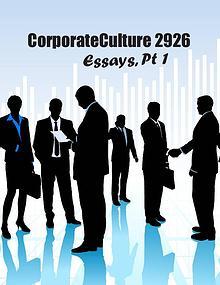 Corporate Culture 2926