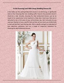cheap wedding dresses nz