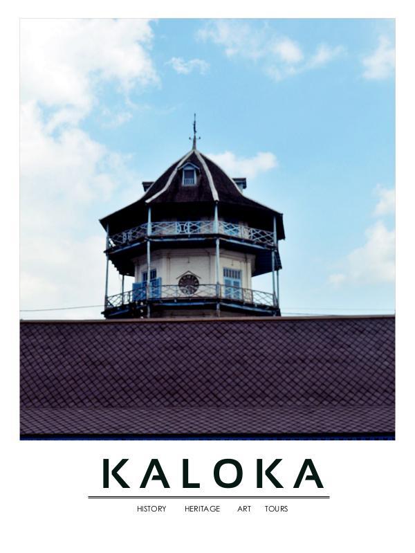 KALOKA MAGAZINE 2017 KALOKA MAGAZINE 2017