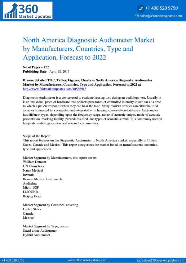 Diagnostic Audiometer Market