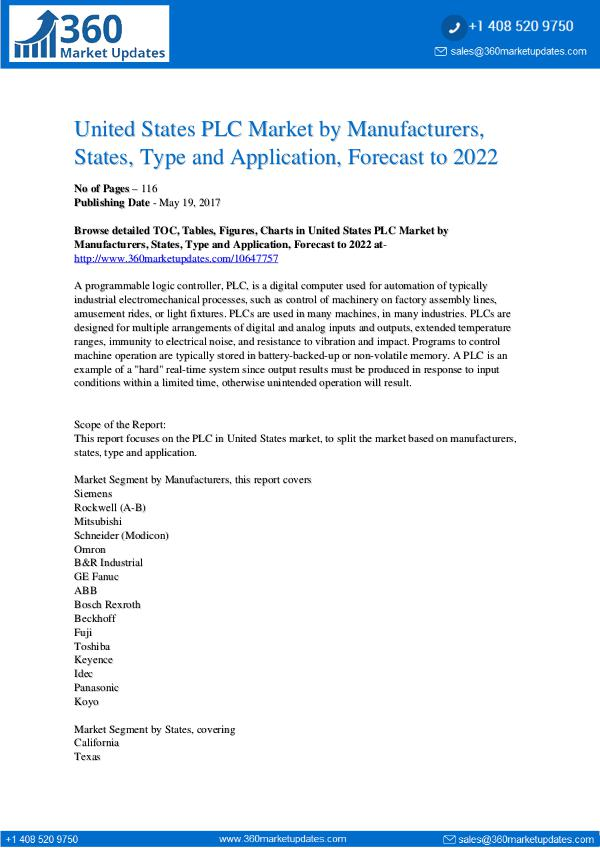 Reports- PLC Market Segmentation