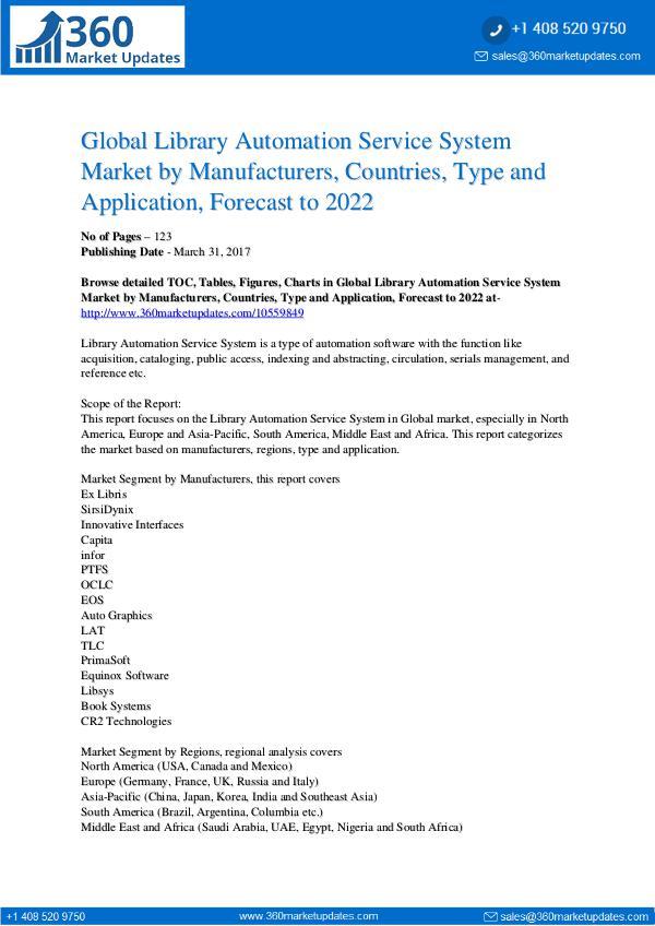 Library Automation Service System Market