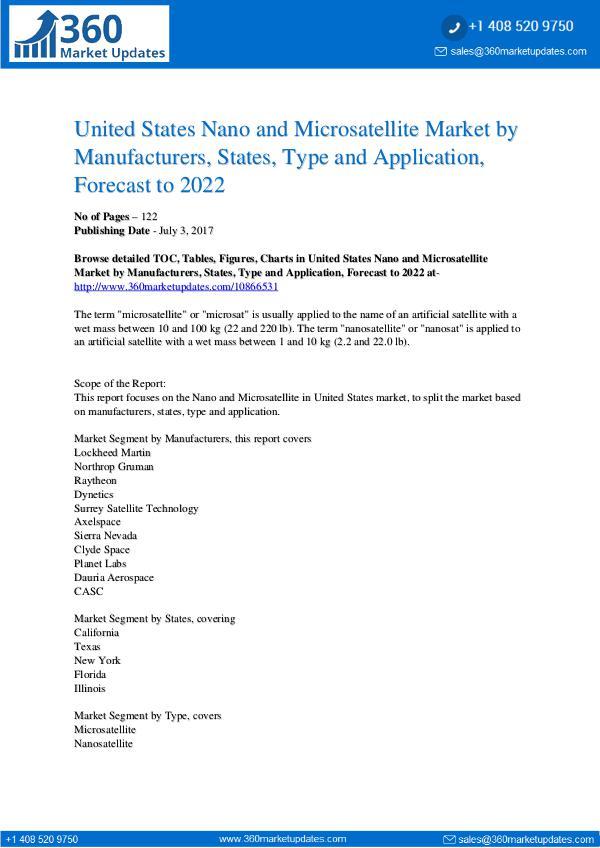 Nano and Microsatellite Market