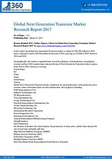 Next Generation Transistor Market Analysis by Current Industry Status