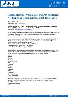 EMEA Internet Of Things Microcontroller Market by Product Types
