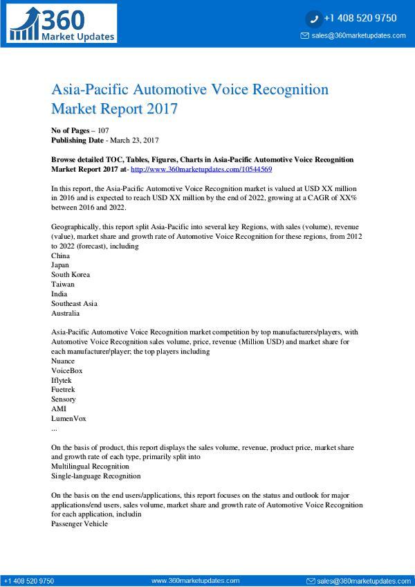 Automotive-Voice-Recognition-Market-Report-2017