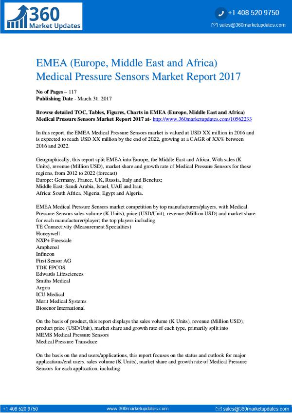 Medical-Pressure-Sensors-Market-Report-2017