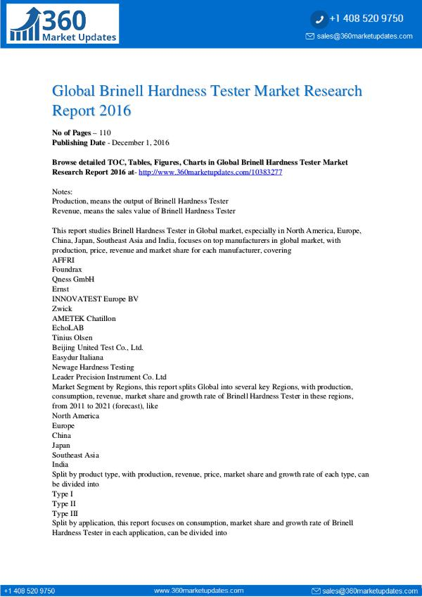 Report- Brinell-Hardness-Tester-Market-Research-Report-201