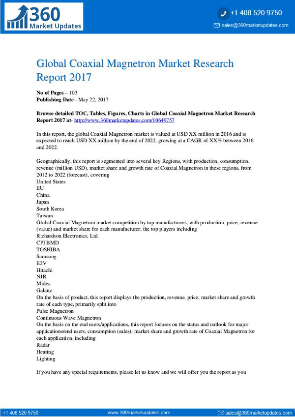 Coaxial-Magnetron-Market-Research-Report-2017